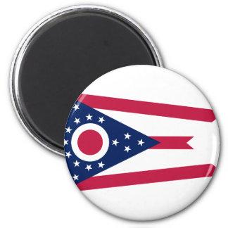 Imã Bandeira de Ohio