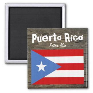 Imã Bandeira de Puerto Rico Patria Mía
