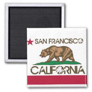 Imã Bandeira de San Francisco Califórnia