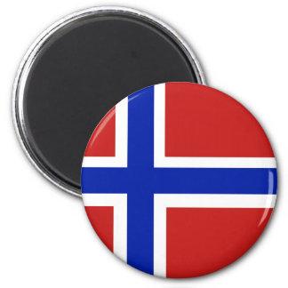 Imã Bandeira do escandinavo de Noruega