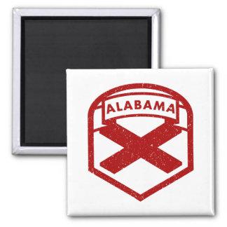 Imã Bandeira do estado de Alabama