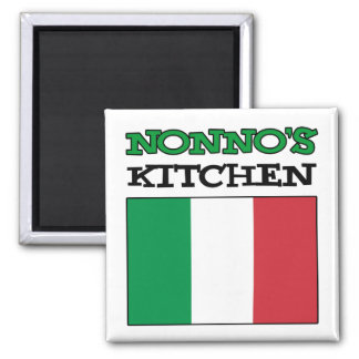 Imã Bandeira do italiano da cozinha de Nonno