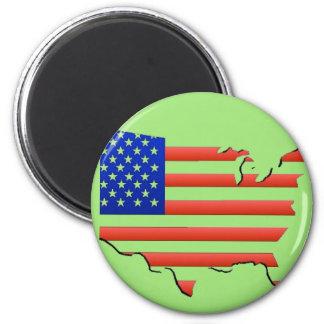 Imã Bandeira dos Estados Unidos da América