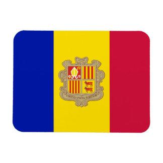 Ímã Bandeira patriótica de Andorra