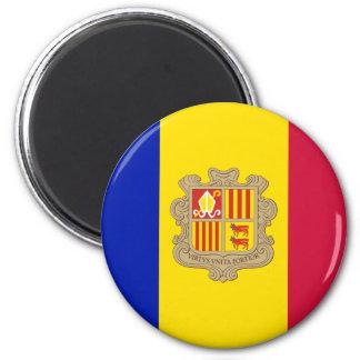 Imã Bandeira patriótica de Andorra