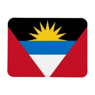 Ímã Bandeira patriótica de Antígua e de Barbuda