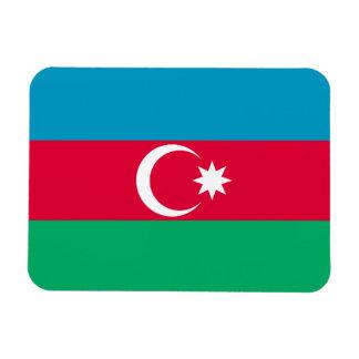 Ímã Bandeira patriótica de Azerbaijan