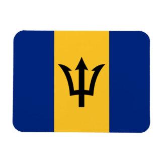 Ímã Bandeira patriótica de Barbados
