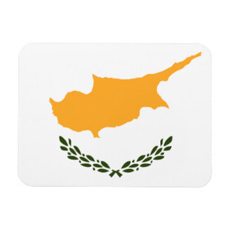 Ímã Bandeira patriótica de Chipre