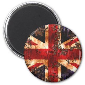 Imã Bandeira patriótica oxidada de Reino Unido