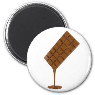 Imã Bar de chocolate derretido