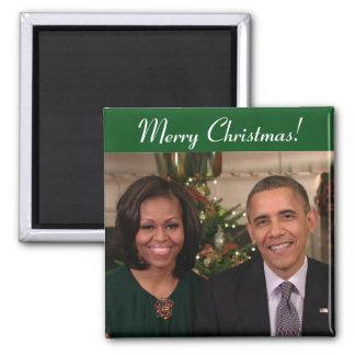 Imã Barack e Michelle 2012WA - ímã
