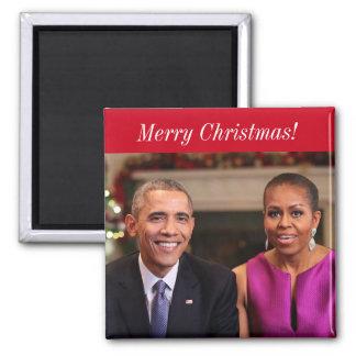 Imã Barack e Michelle 2014WA - ímã