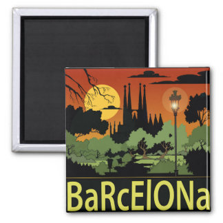 Imã Barcelona. ímã