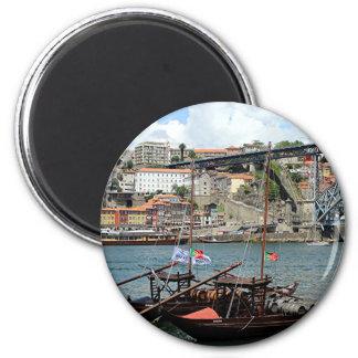 Imã Barcos do tambor de vinho, Porto, Portugal