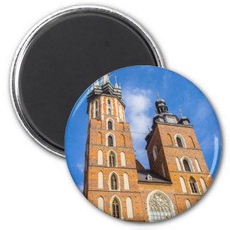 Imã Beaautiful Krakow, igreja de Mariacki, vários