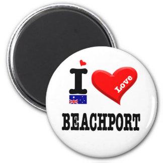 Imã BEACHPORT - Eu amo