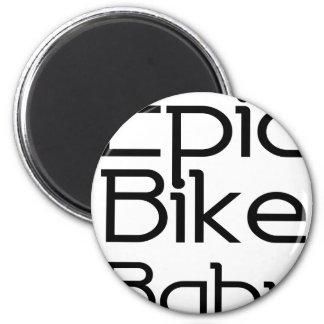 Imã Bebê épico da bicicleta