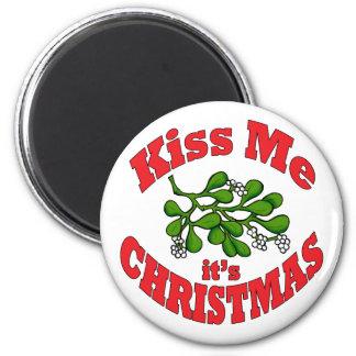 Imã beije-me que é Natal