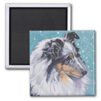 Imã Belas artes bonitas do Sheepdog de Sheltie