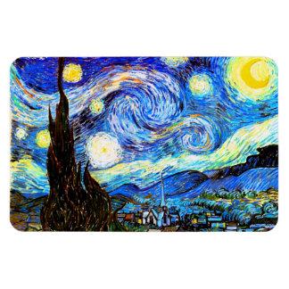 Ímã Belas artes da noite estrelado de Van Gogh