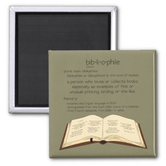 Imã Bibliophile - escolha a cor