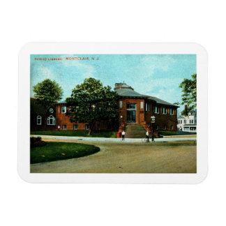 Ímã Biblioteca, Montclair, vintage 1909 de NJ