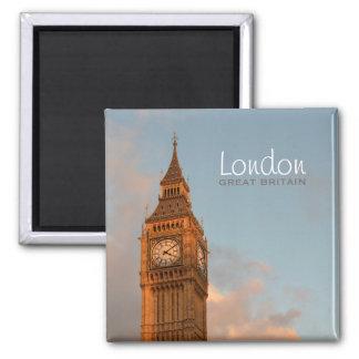 Imã Big Ben no ímã do texto da foto de Londres