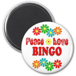 Imã Bingo do amor da paz