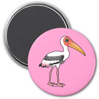 Imã Birdorable pintou a cegonha