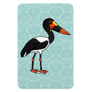 Ímã Birdorable Sela-faturou a cegonha