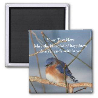 Imã Bluebird da felicidade inspirado