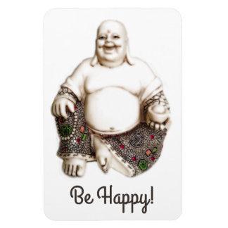 Ímã Boa sorte de riso feliz Buddha