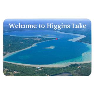 Ímã Boa vinda da tipografia ao lago Higgins