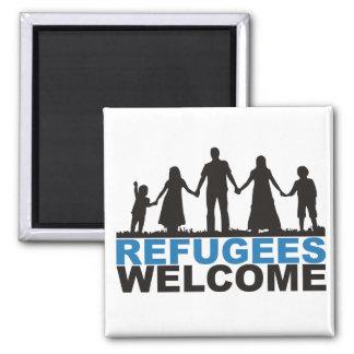 Imã Boa vinda dos refugiados