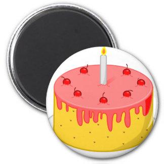 Imã Bolo de aniversário