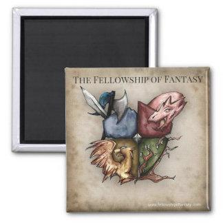 Imã Bolsa de estudo do ímã do logotipo da fantasia