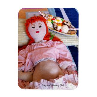 Ímã Boneca grávida das mamães