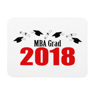 Ímã Bonés do formando de MBA e diplomas 2018