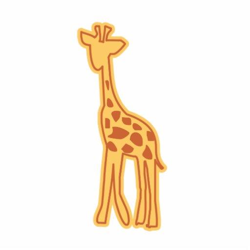 Ímã bonito/escultura do girafa escultura de foto