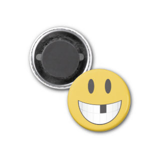 Imã Bonito & minúsculo meu ø emoji faltante do dente
