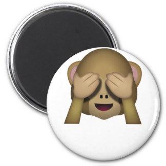 Imã Bonito não veja nenhum macaco mau Emoji