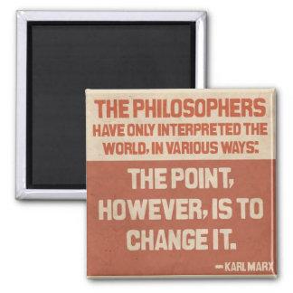 Imã Botão das citações de Karl Marx