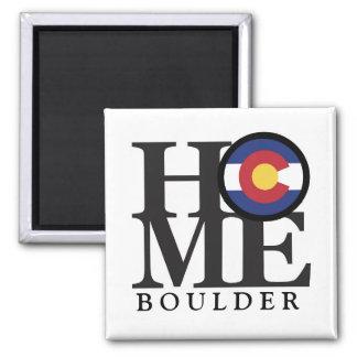 """Imã Boulder ímã de Colorado 4x4 HOME"""""""