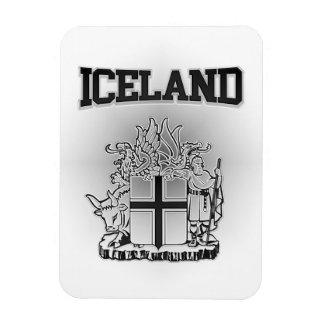Ímã Brasão de Islândia