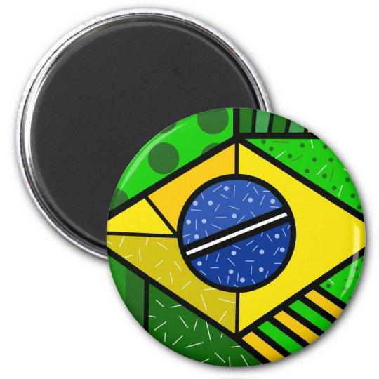 Imã Brasil Brazil brazilian flag