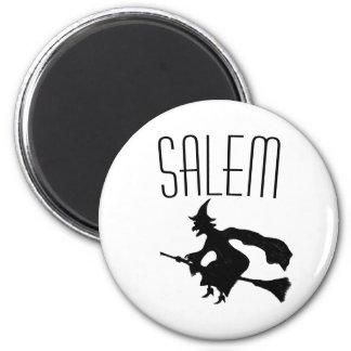 Imã Bruxa de Salem no ímã do broomstick