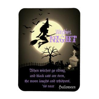 Ímã Bruxas noite, o Dia das Bruxas