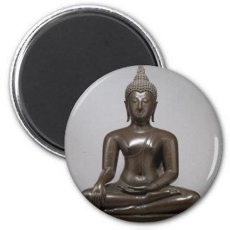 Imã Buddha assentado - século XV