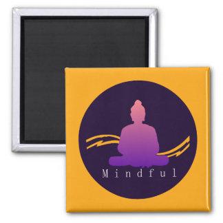 """Imã Buddha. bonito """"consciente"""""""